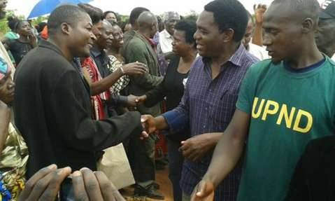 Hakainde Hichilema Dec 7th 2014 - Thank you all for joining me on our Zambia United Tour. I look forward to moving Zambia forward on this new journey