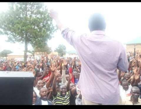 Hakainde Hichilema campaigns in Nakonde and Isoka