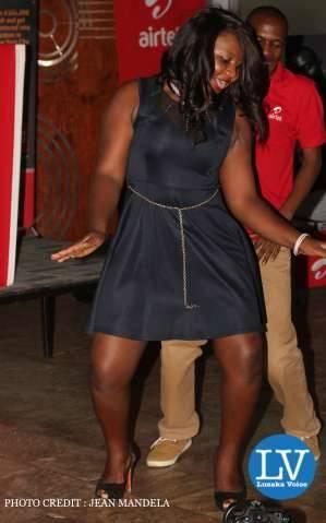 Kaunda Square resident Patricia Chabala showing the case - Lusakavoice.com