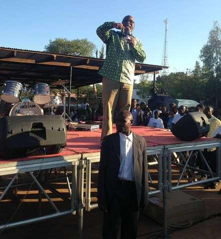 Nevers Mumba speaking