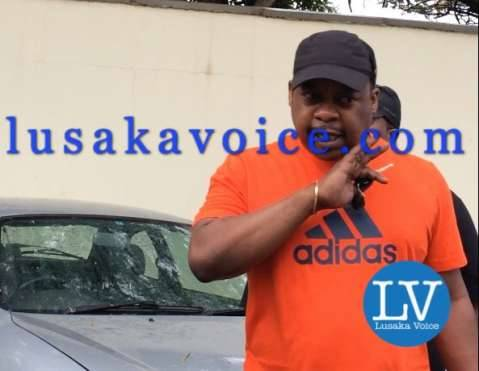 RATSA Director Zindaba Soko beats Ideal Funeral Home Driver at cfb Hospital in Lusaka on Dec 14, 2014 by Lusakavoice.com