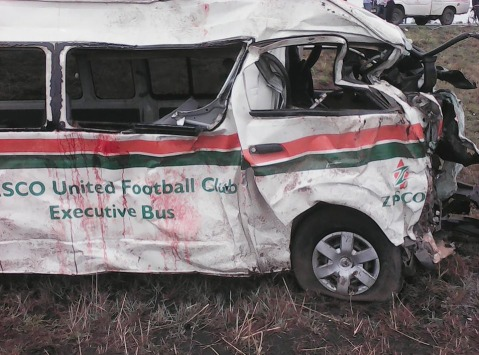 Zesco United Crash in Kabwe