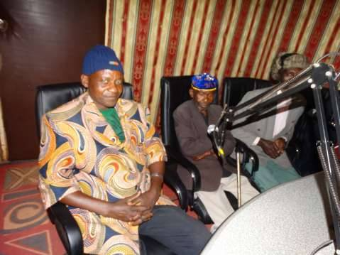 Chief Chimba and other members of the Bemba Royal Establishment.