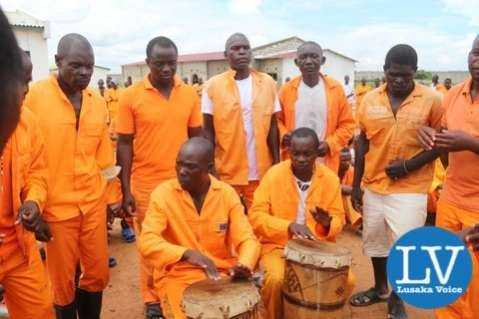 Mwembeshi Maximum Security Prison inmates Catholic church choir.  - Photo Credit : Jean Mandela for Lusakvoice.com