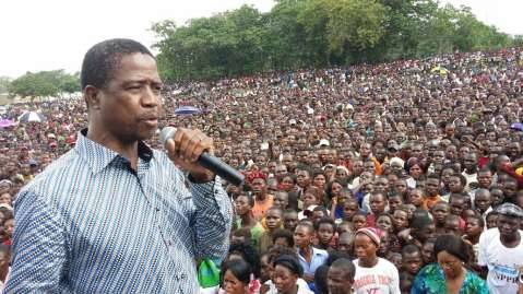 Samfya welcomes Edgar Lungu