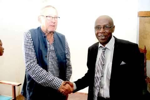 Designate paramount Chief Chitimukulu Henry Kanyanta Sosala