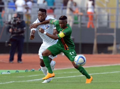 Zambia vs Democratic Republic of Congo in AFCON 2015