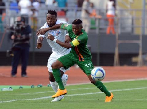 Zambia vs Democratic Republic of Congo in AFCON 2015