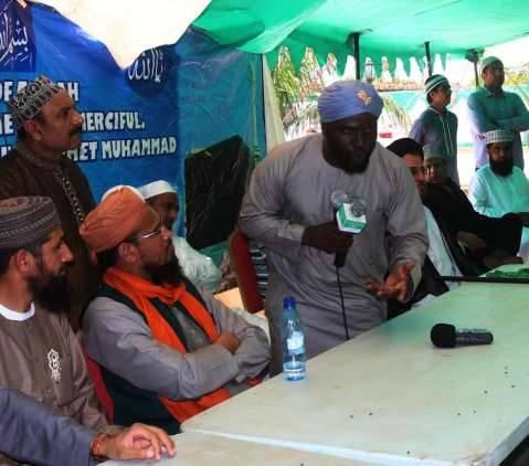 the lusaka muslims community celebrates the birth of muhammad