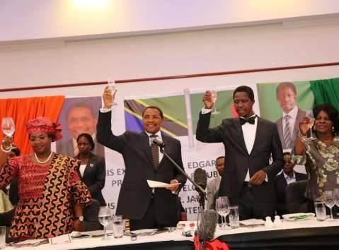 Edgar Lungu , Jakaya Kikwete