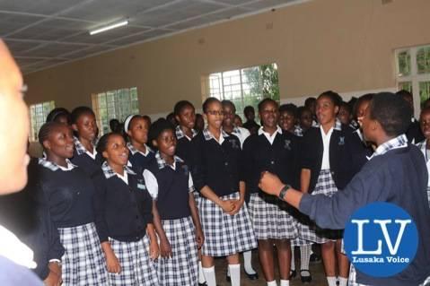 Kasisi Girls Choir!     - Photo Credit Jean Mandela - Lusakavoice.com