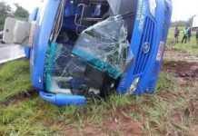 Kitwe bound Mazhandu Family Bus claims one life
