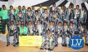 League winner- ZESCO United FC  - Image Credit - Jean Mandela