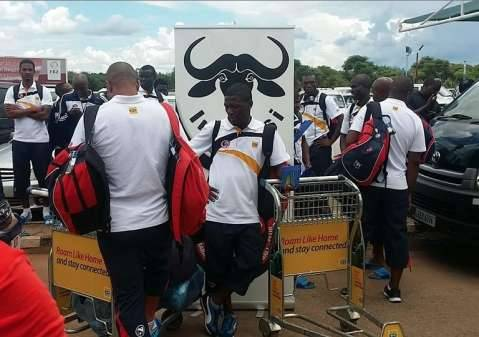 Mbabane Swallows Football Club has arrived in Ndola for the Caf Champions League preliminary round second leg against Zesco United scheduled for Levy Mwanawasa Stadium on Saturday. Swallows arrived at Simon Mwansa Kapwepwe International Airport at 12h10 on Friday.
