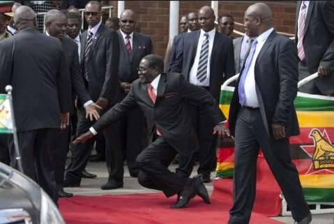 Mugabe Falls in Harare