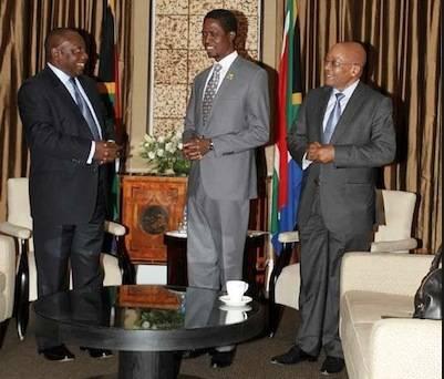 Presidents Lungu, Zuma
