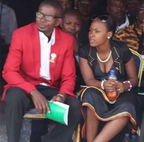 Cosmo Mumba and Wife Martha Mumba