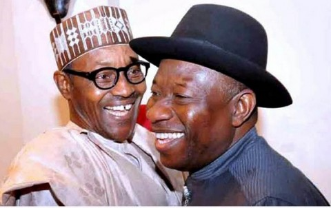 Nigerian President Goodluck Jonathan and presidential candidate Mohammadu Buhari are both using U.S. Democratic political strategists to help their campaigns. | Getty