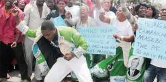 PF celebrates Masebo expulsion