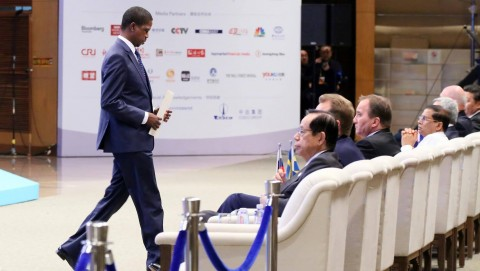 President Lungu after speaking during during the Boao forum for Asia in Hainan province of China -Picture by Eddie Mwanaleza