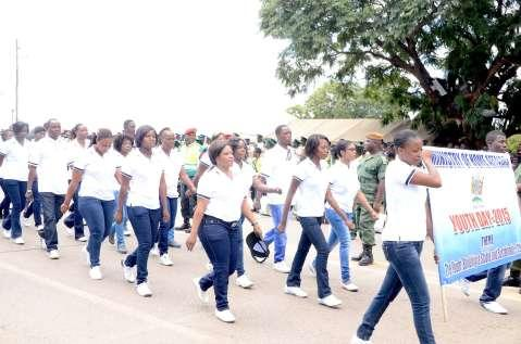 Youth Day Celebrations  in Lusaka on March 12,2015