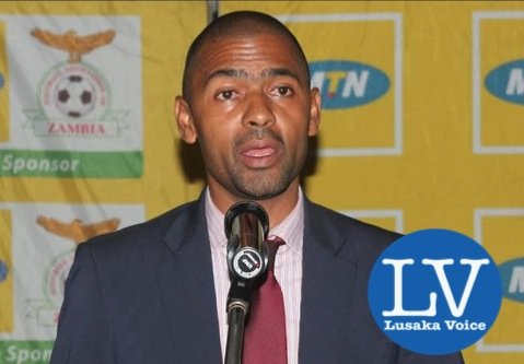 FAZ:MTN Super League Awards Ceremony, Vincent Mwale giving a speech - Photo Credit Jean Mandela - Lusakavoice.com