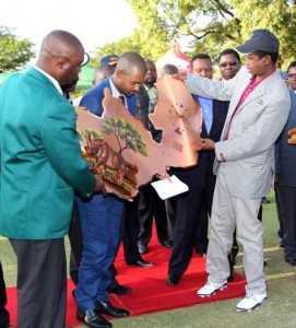 PHOTOS-H.E. LUNGU GRACES ZAMBIA GOLF TOURNAMENT BY MWANALEZA.