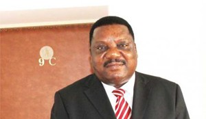 Namibian High Commissioner to Zambia Leonard Nambahu -pic-Times of Zambia