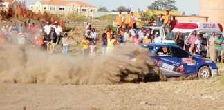 MUNA SINGH Jr Zambia International Motor Rally.