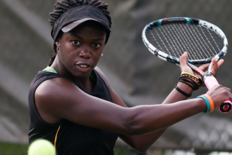 Yonkers resident Nelo Phiri will be playing tennis at the University of Louisiana beginning this fall. Photo Credit: Kela Tennis