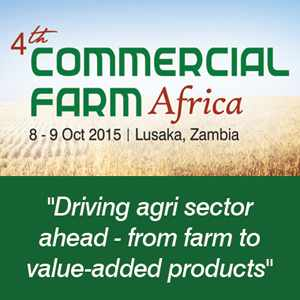 4th Commercial Farm Africa ,October 2015, Lusaka, Zambia