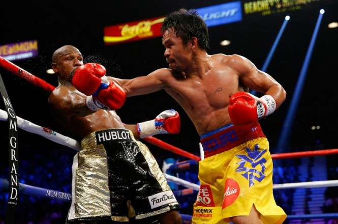 Floyd Mayweather beats Manny Pacquiao - Business insider