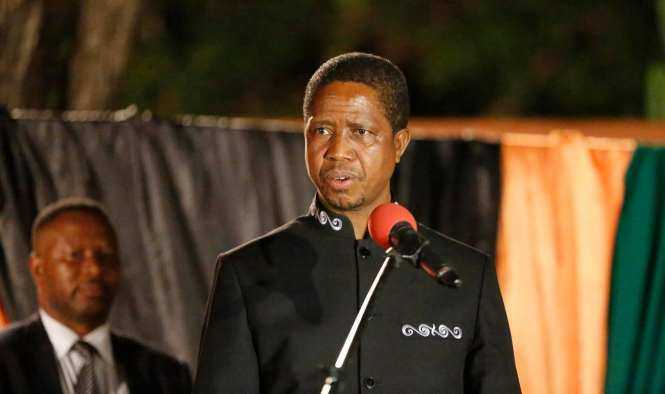 His Excellency Mr. Edgar Chagwa Lungu, President of the Republic of Zambia