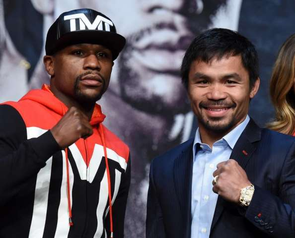 Mayweather-Pacquiao fight - Getty images