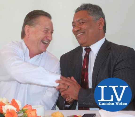 Peter Cottan and Hon Given Lubinda - Photo Credit Jean Mandela - Lusakavoice.com-1