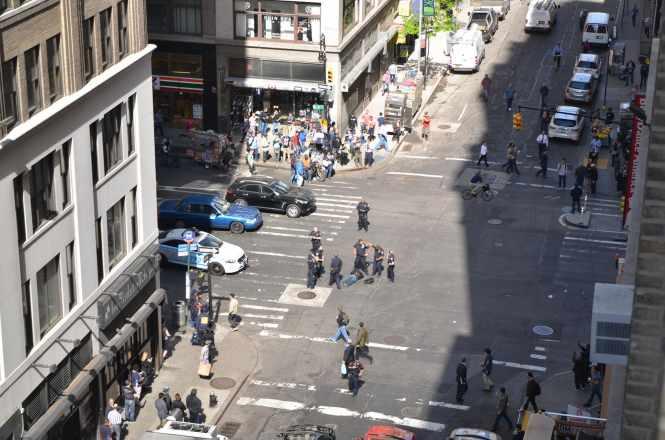 Police Shoot Hammer-Wielding Man In Midtown Manhattan