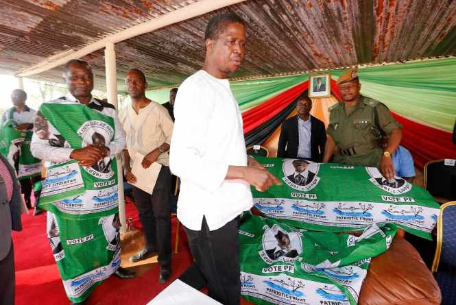Richard Kapita, Edgar lungu