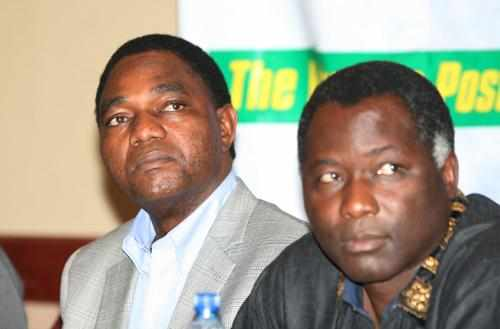 Richard Kapita, HH, Hichilema
