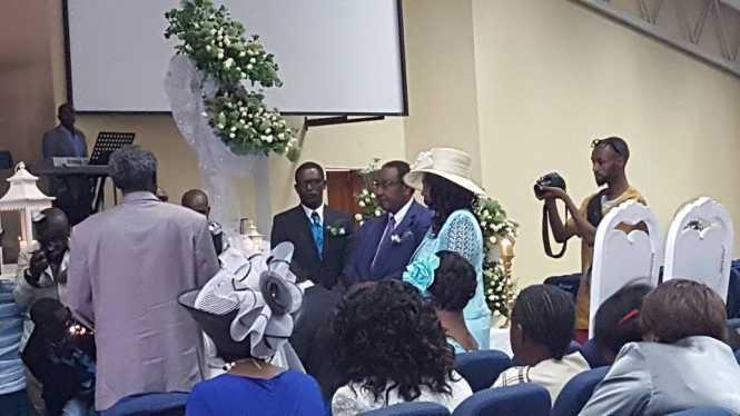 GBM's daughter Thandi & Chewe Mutanuka wedding in Pictures