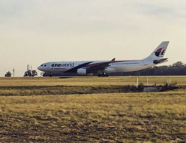 Malaysia Airlines flight MH148