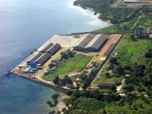 Mtwara port in Tanzania