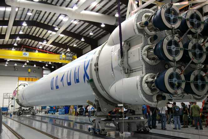 SpaceX Falcon 9 rocket
