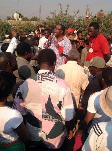 HH, GBM at Luanshya's Mikomfwa township