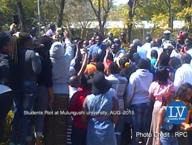 Zambian mulungushi university students