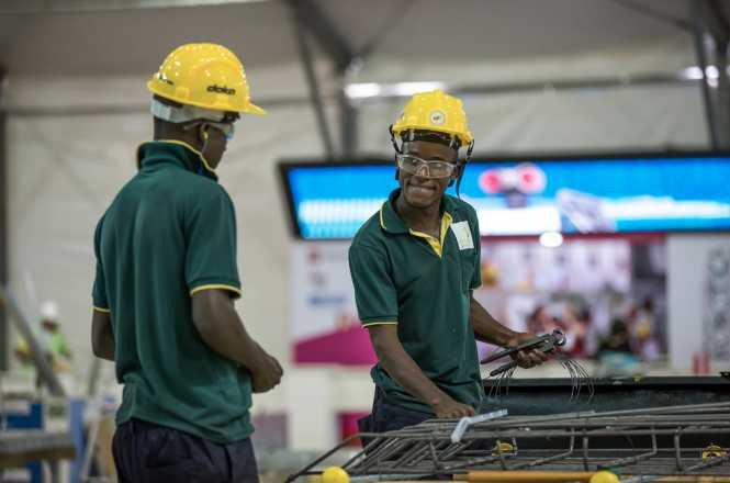 WorldSkills Zambia Competitor