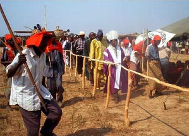 Malaila traditional ceremony