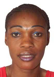 Zambian Netballer Margaret Mutafela