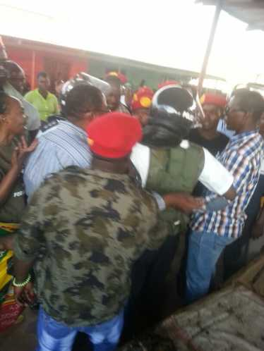 GBM encounter with Kasama Police.