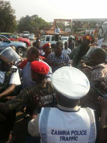 GBM summoned by Kasama Police.