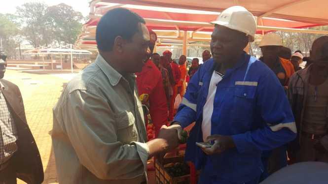 Hakainde Hichilema in kalumbila